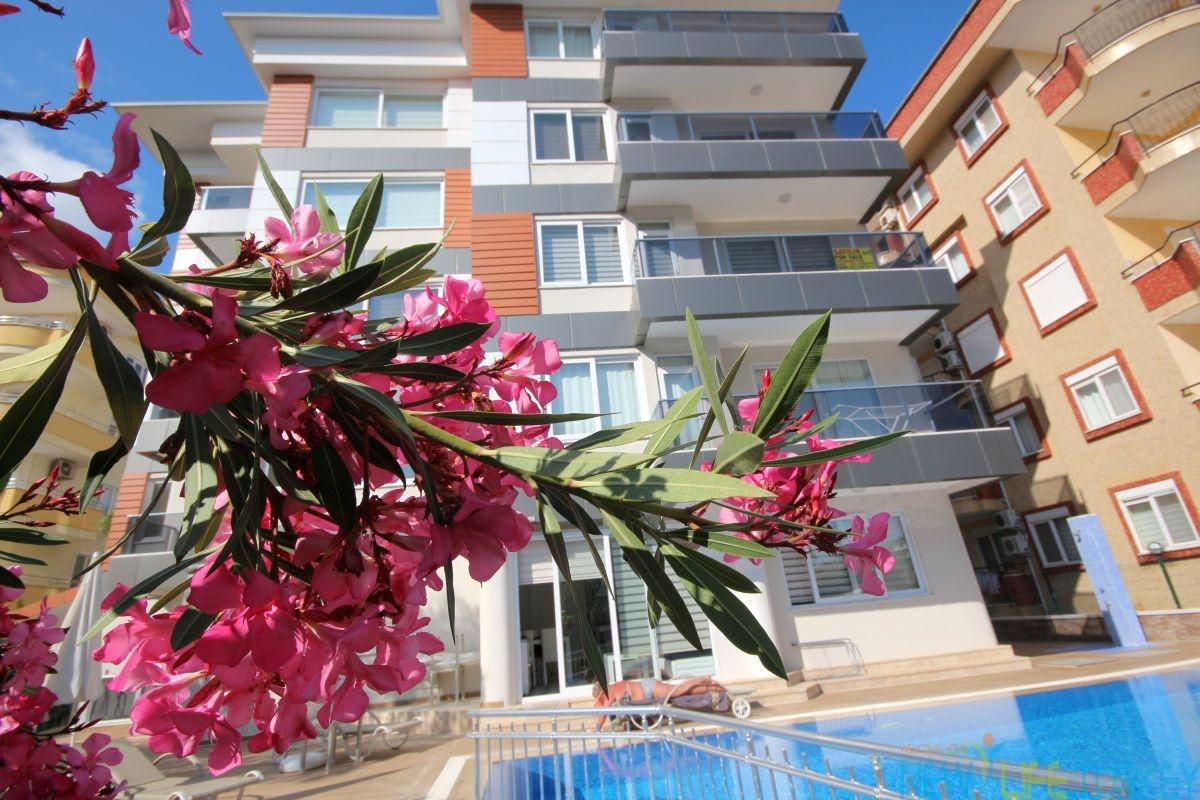 Komplett möblierte Wohnungen in Strandnähe in Alanya-Oba